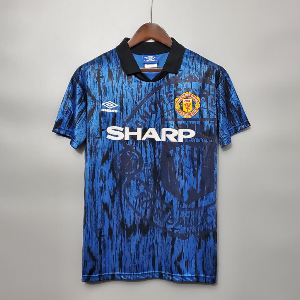 Manchester United Away 1992-93 Retro Jersey