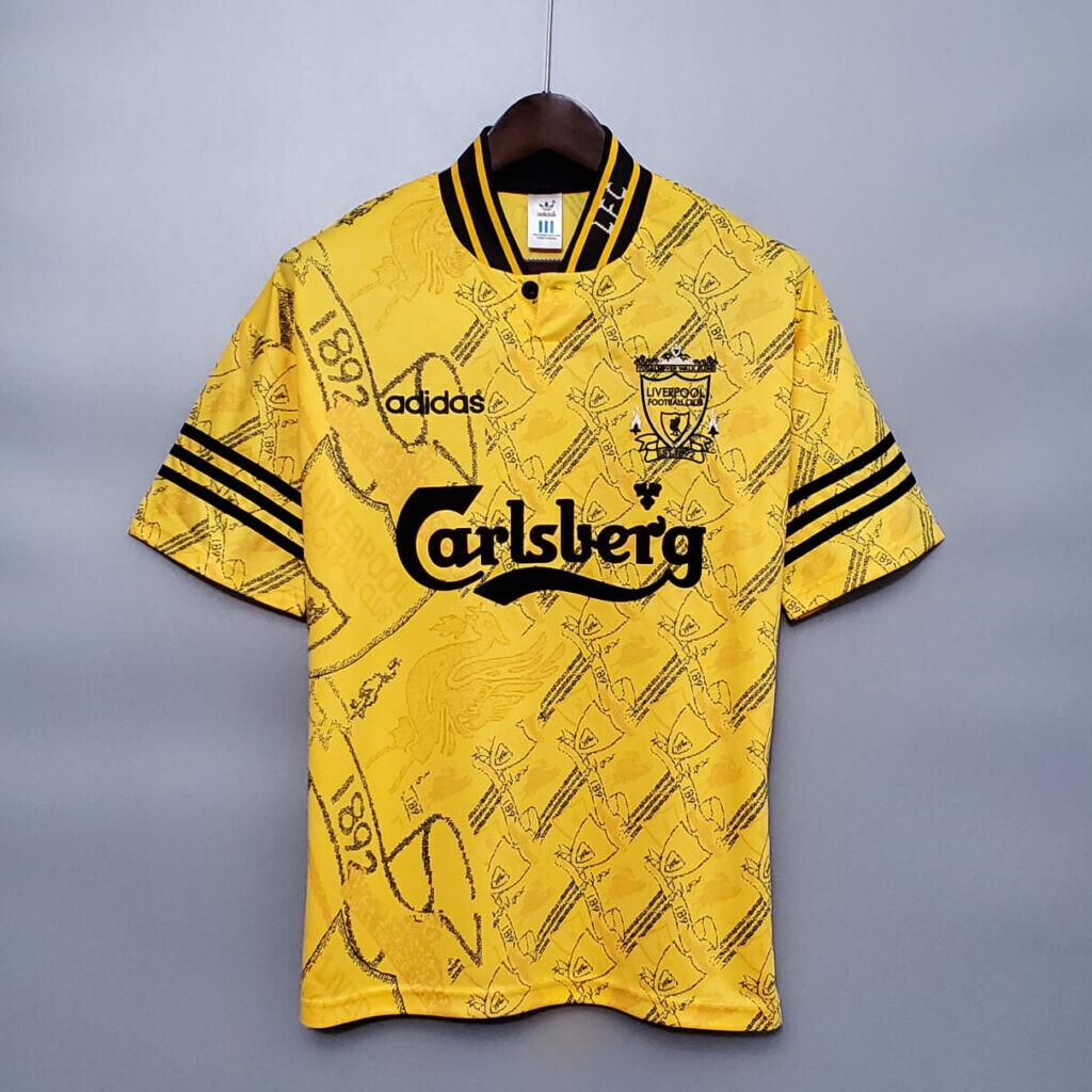 Liverpool Away 1994-96 Retro Jersey