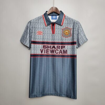 Manchester United Away 1995-96 Retro Jersey