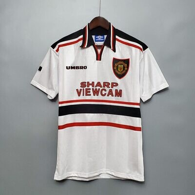 Manchester United Away 1997-98 Retro Jersey