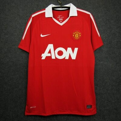 Manchester United Home 2010-11 Retro Jersey