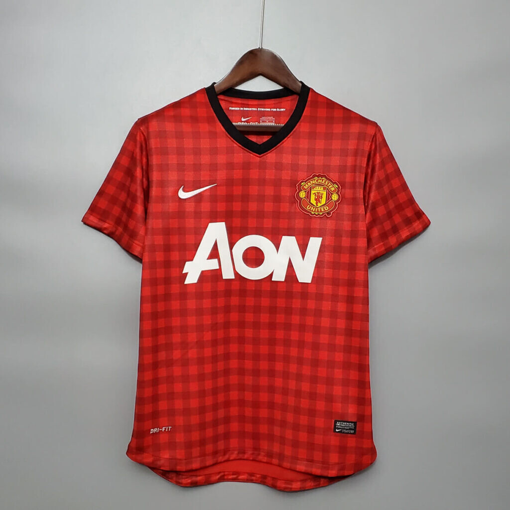 Manchester United Home 2012-13 Retro Jersey