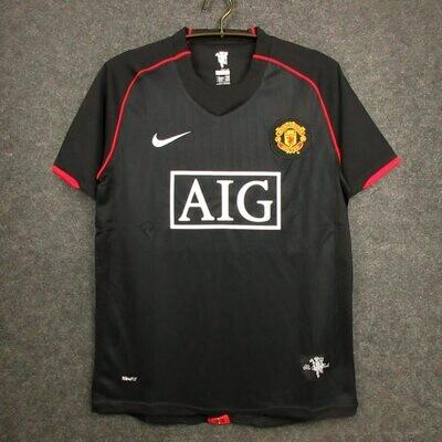 Manchester United Third 2007-08 Retro Jersey