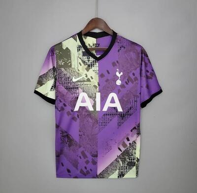 Tottenham Hotspurs Third Jersey 2021-22