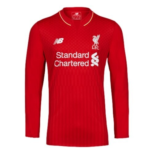 Liverpool FC 2015-16 Home Jersey Full Sleeves