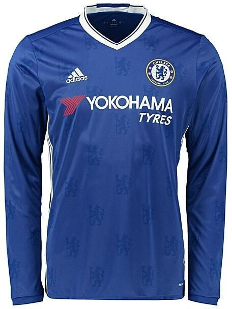 Chelsea FC 2016-17 Home Jersey Full Sleeves