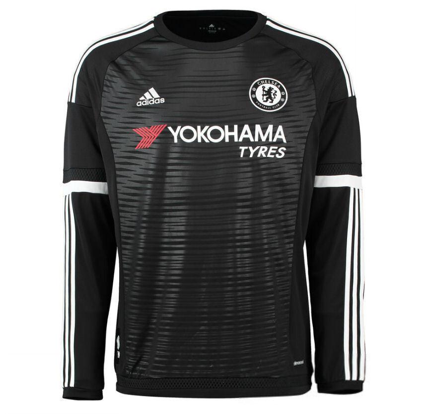 Chelsea FC 2015-16 Goalkeeper Jersey Full Sleeves