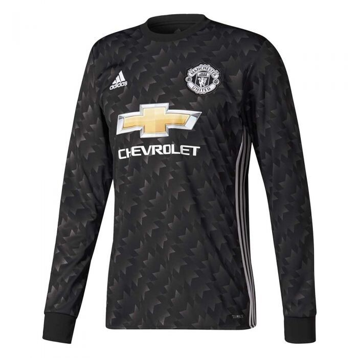 Manchester United FC 2017-18 Away Jersey Full Sleeves