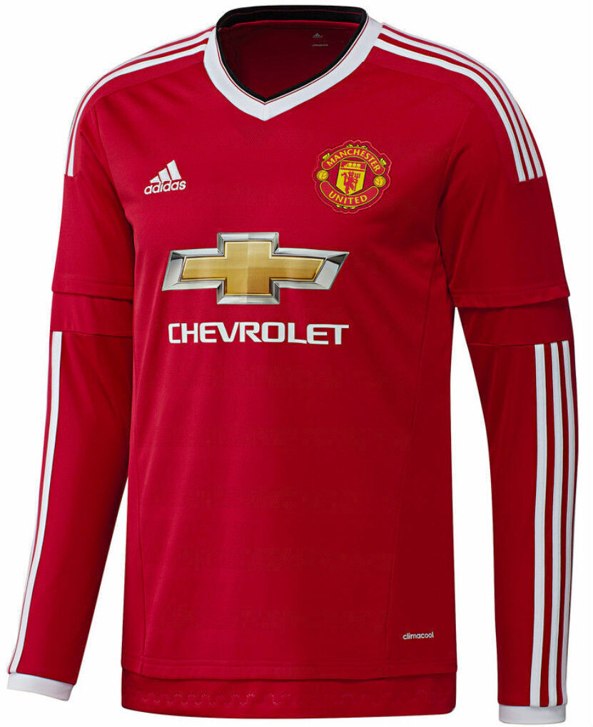 Manchester United FC 2015-16 Home Jersey Full Sleeves