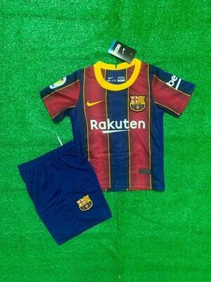 Barcelona Home Kids Jersey Set