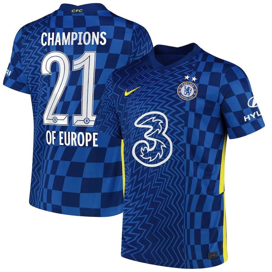 Chelsea Champions of Europe Special Edition Jersey 2021