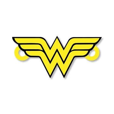 Wonder Woman Rakhi with Fridge Magnet and Pin