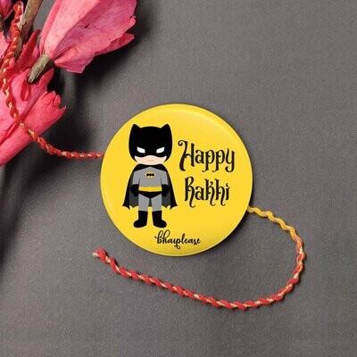 Batman Rakhi with Fridge Magnet