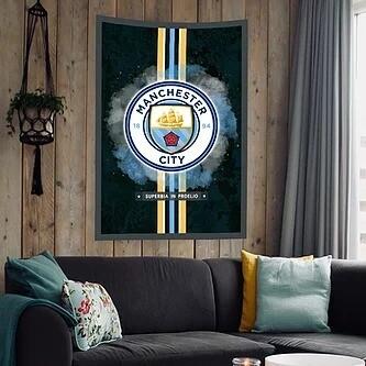 Manchester City Flag (UV reactive)