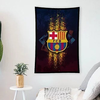 Barcelona Flag (UV reactive)