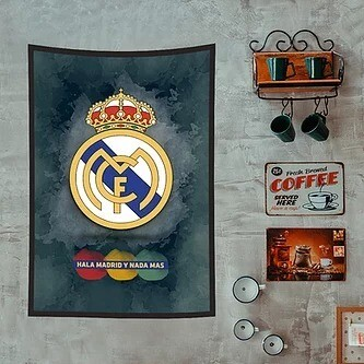 Real Madrid Flag (UV reactive)