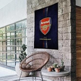 Arsenal Flag (UV reactive)