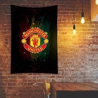 Manchester United Flag (UV reactive)