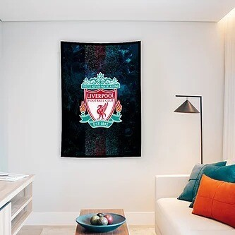 Liverpool Flag (UV reactive)