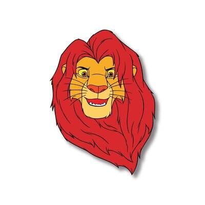 Lion King Wooden Fridge Magnet