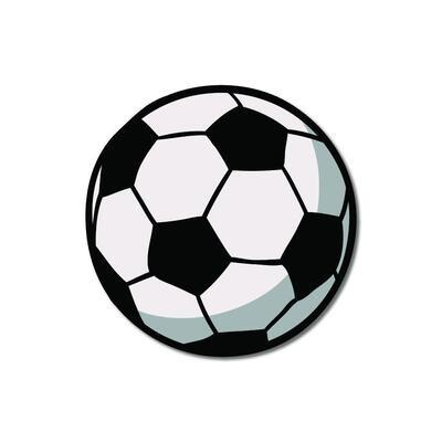Football Wooden Fridge Magnet