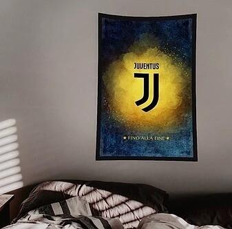 Juventus Flag (UV reactive)