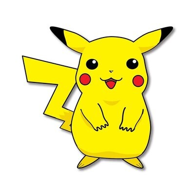 Pikachu Wooden Fridge Magnet