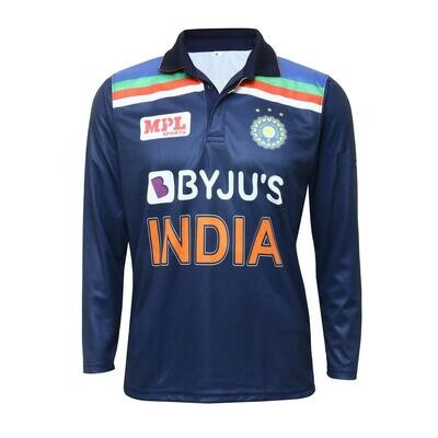 Indian Cricket Team 2021 Full Sleeves Jersey