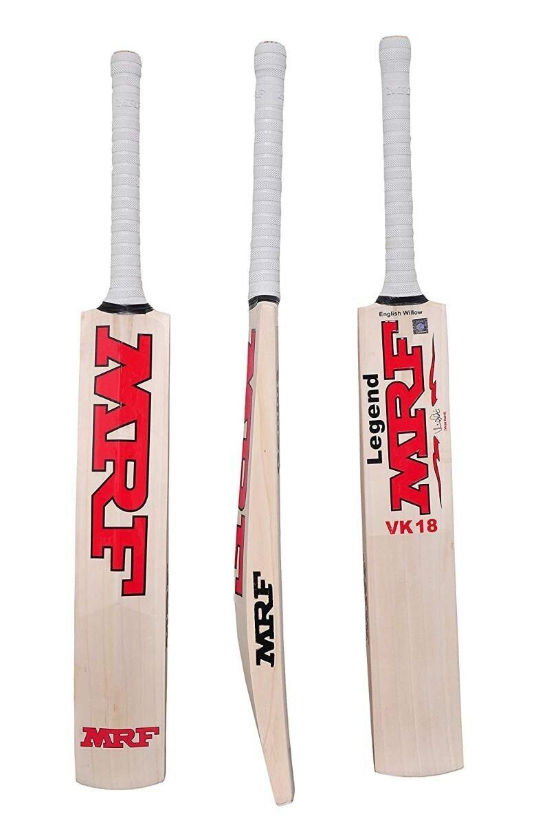 MRF Genius VK 18 Legend English Willow Short Handle Bat