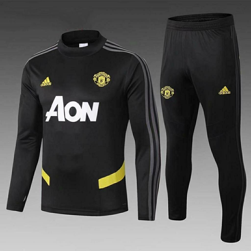 Manchester United Black Training Suit