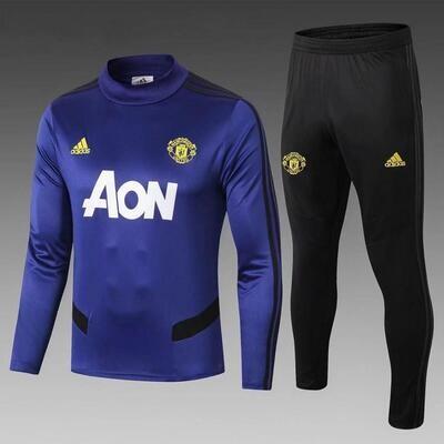 Manchester United Blue Training Suit