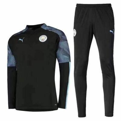 Manchester City Black Training Suit