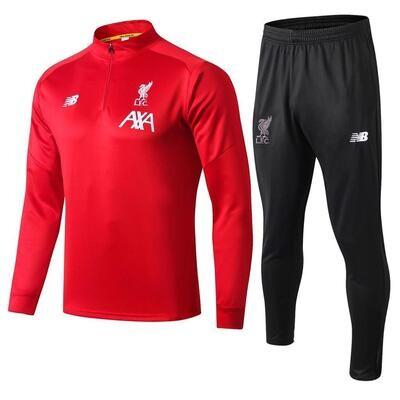 Liverpool Red & Black Training Suit
