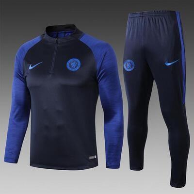 Chelsea Blue Training Suit