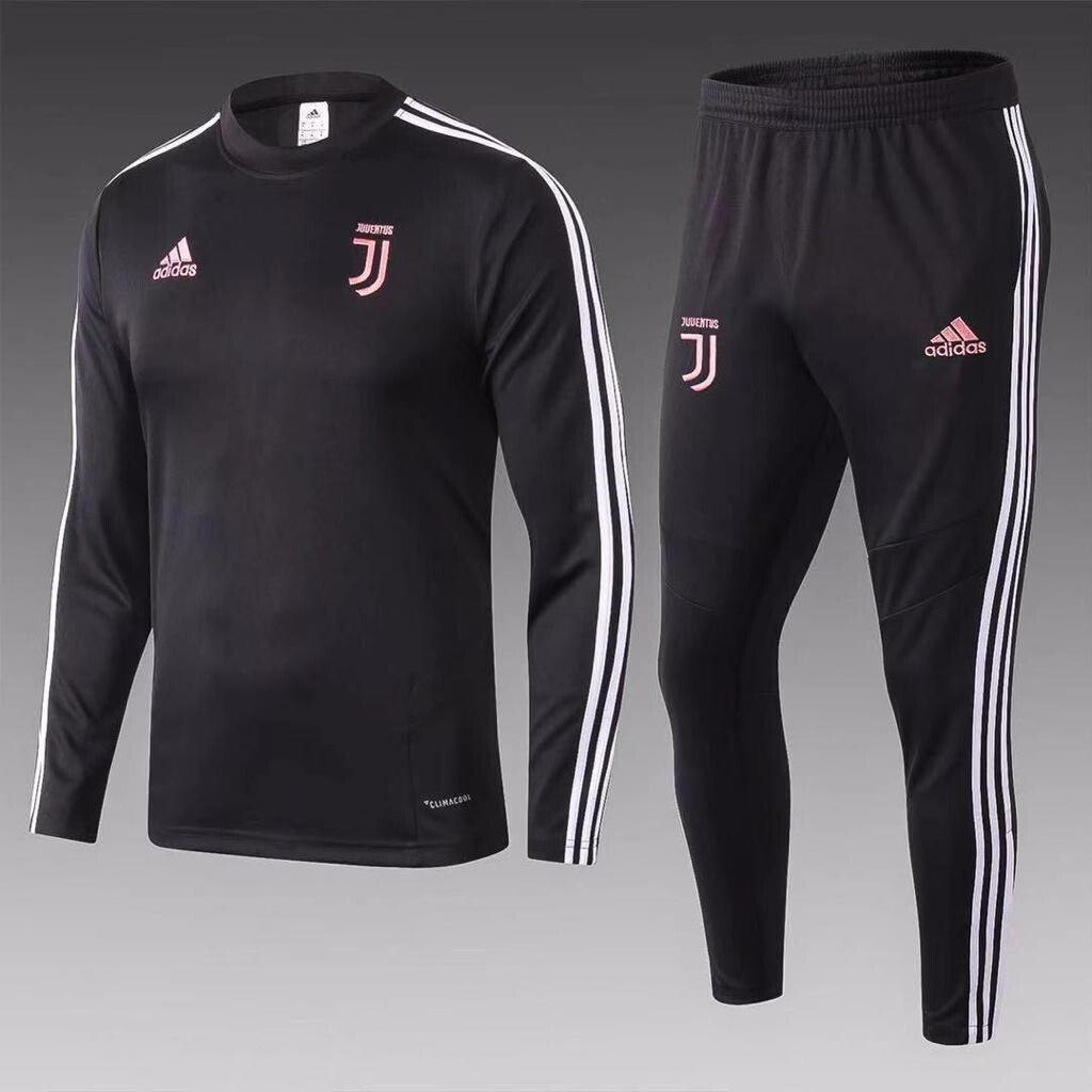 Juventus Black Training Suit