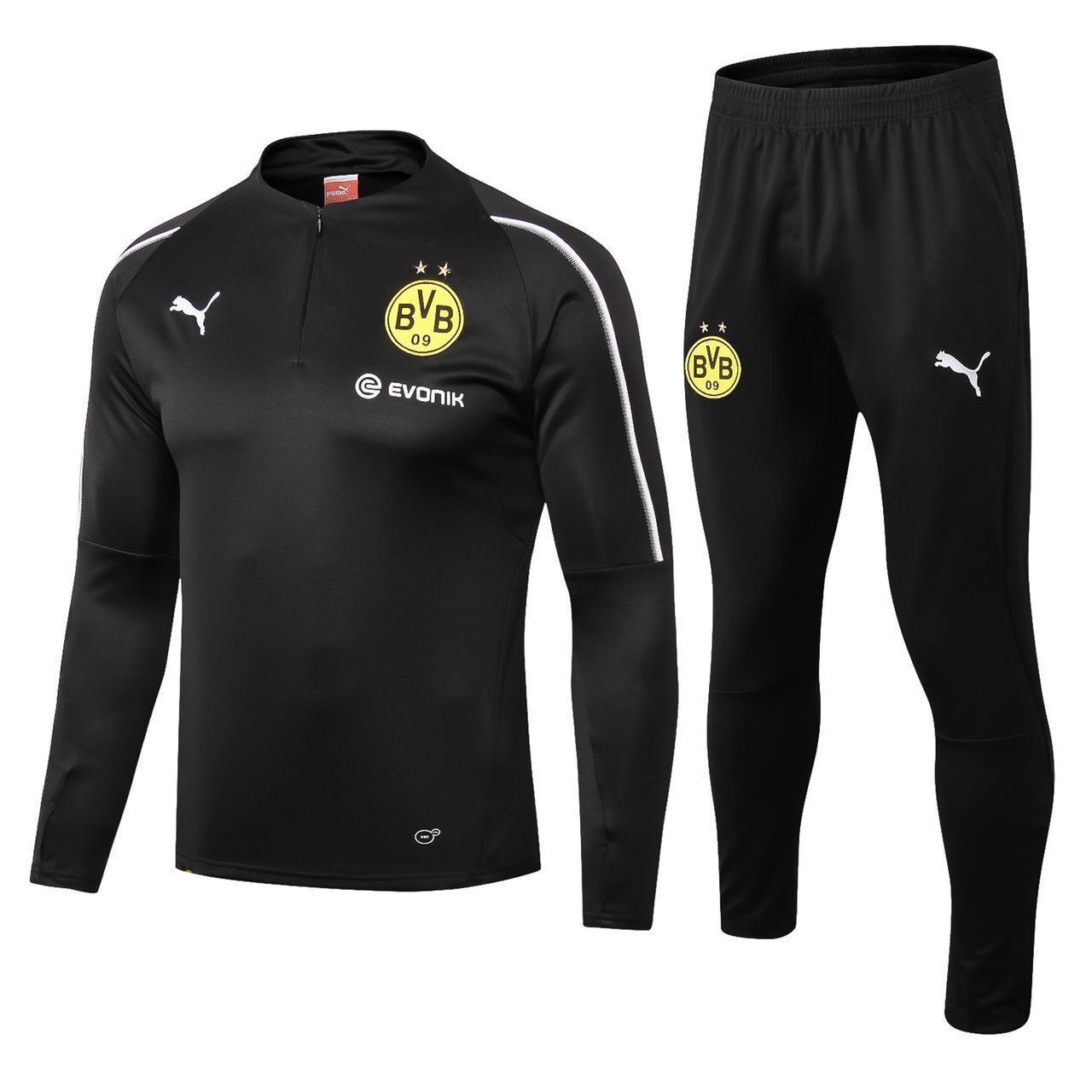 Dortmund Black Training Suit