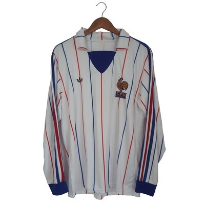 France 1982 WCQ Away Jersey - Full Sleeves