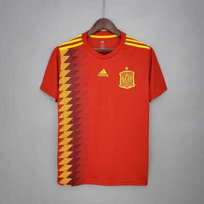 Spain 2018 Home World Cup Jersey [Pre-paid Only]