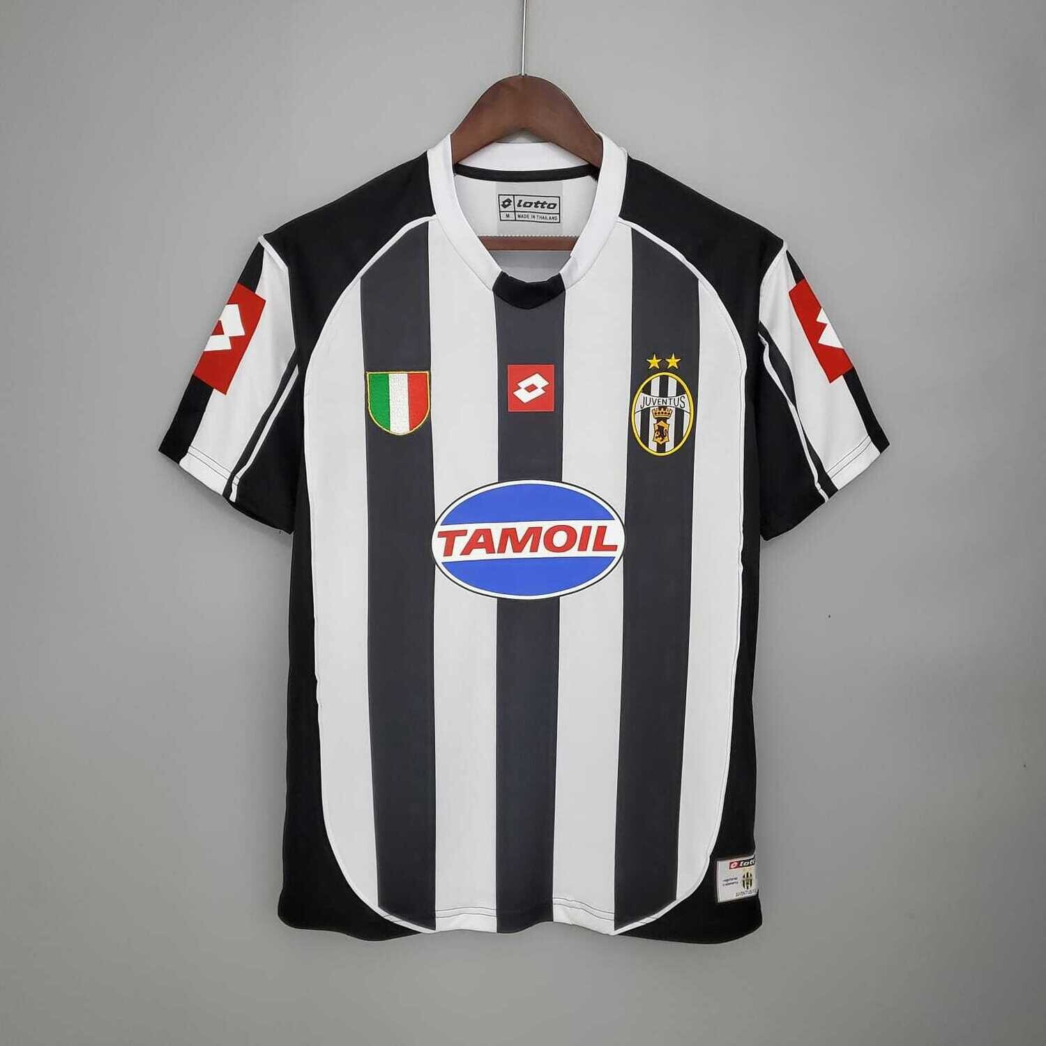 Juventus 2002-03 Retro Home Jersey [Pre-paid Only]