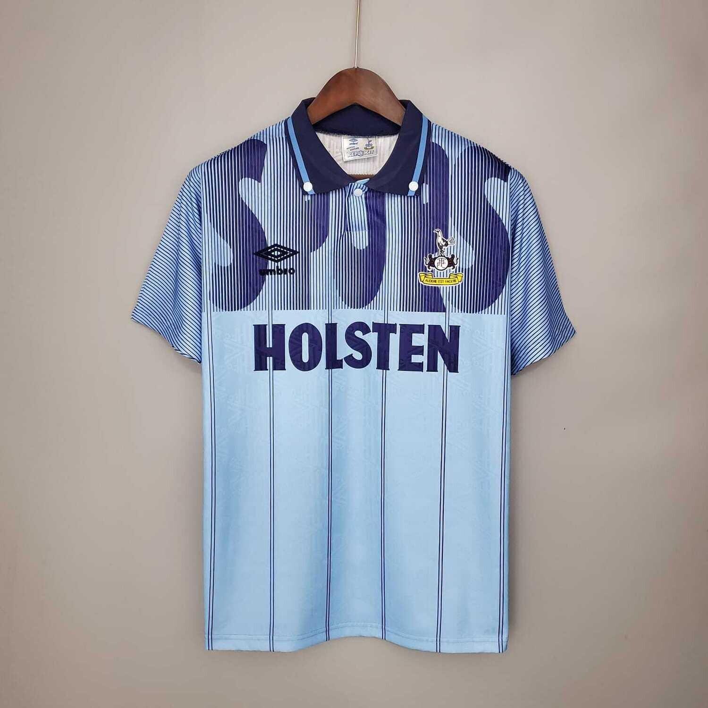 Tottenham Hotspurs 1991-92 Retro Third Jersey [Pre-paid Only]