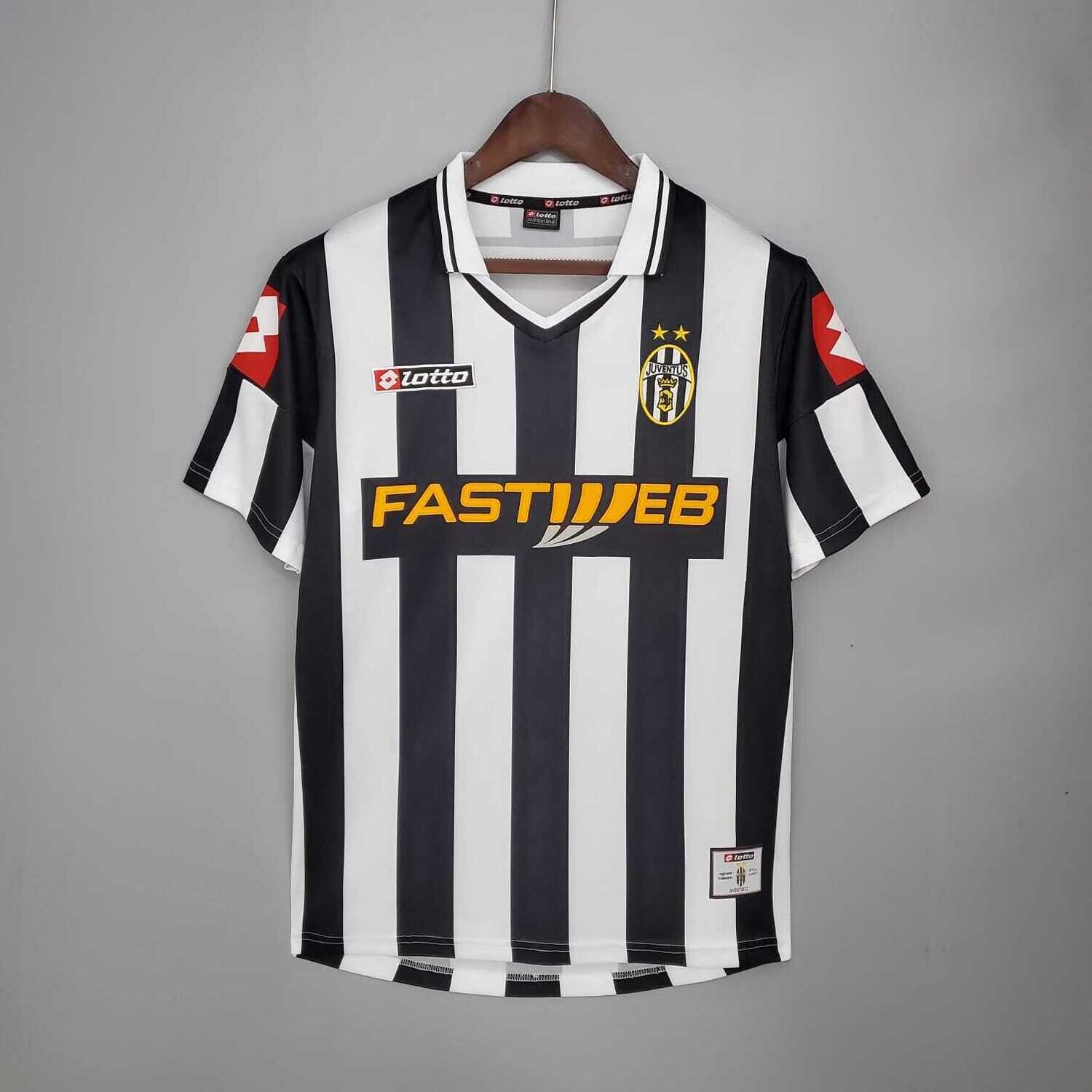 Juventus 2001-02 Retro Home Jersey [Pre-paid Only]