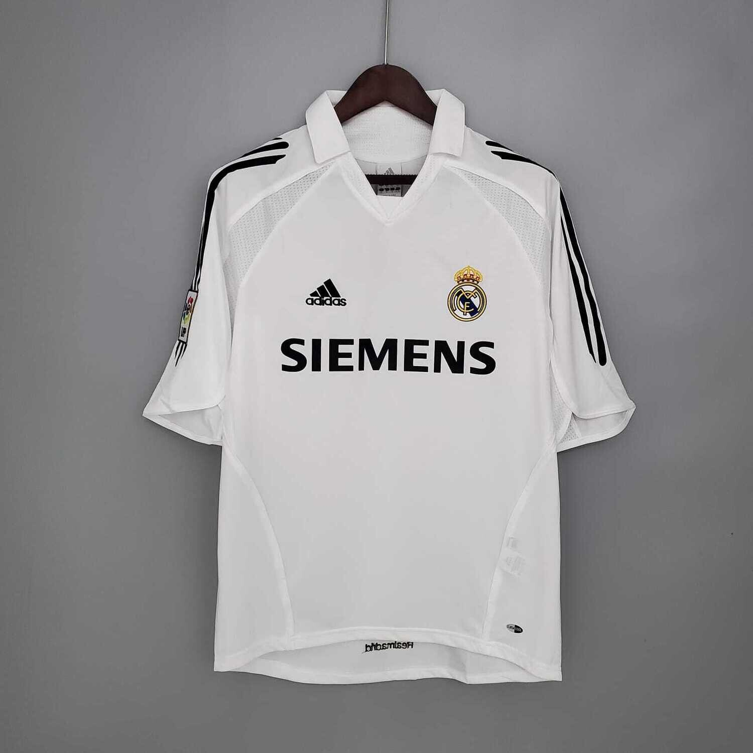 Real Madrid 2005-06 Retro Home Jersey [Pre-paid Only]