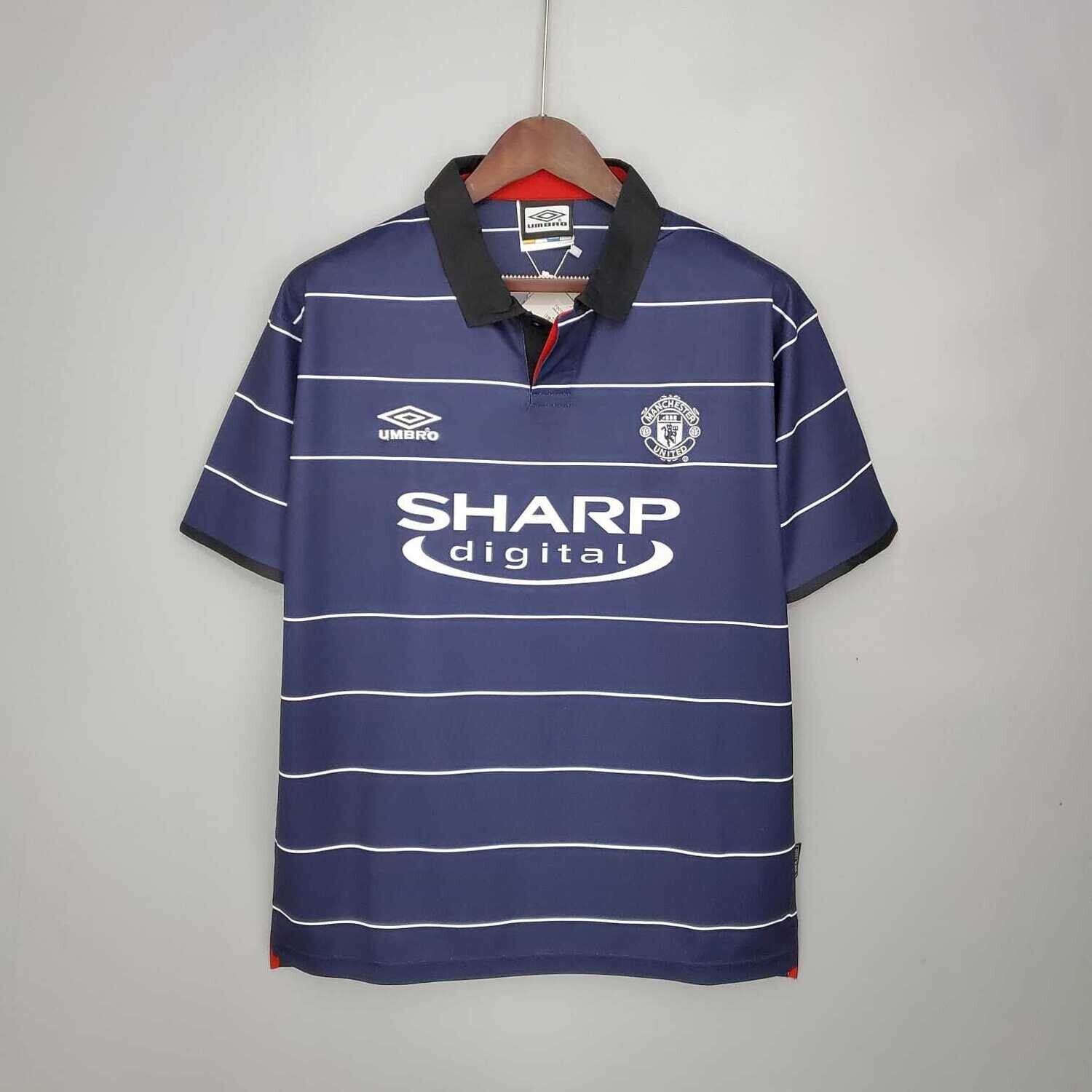 Manchester United 1999-2000 Retro Away Jersey [Pre-paid Only]