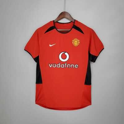 Manchester United 2002-03 Retro Home Jersey [Pre-paid Only]