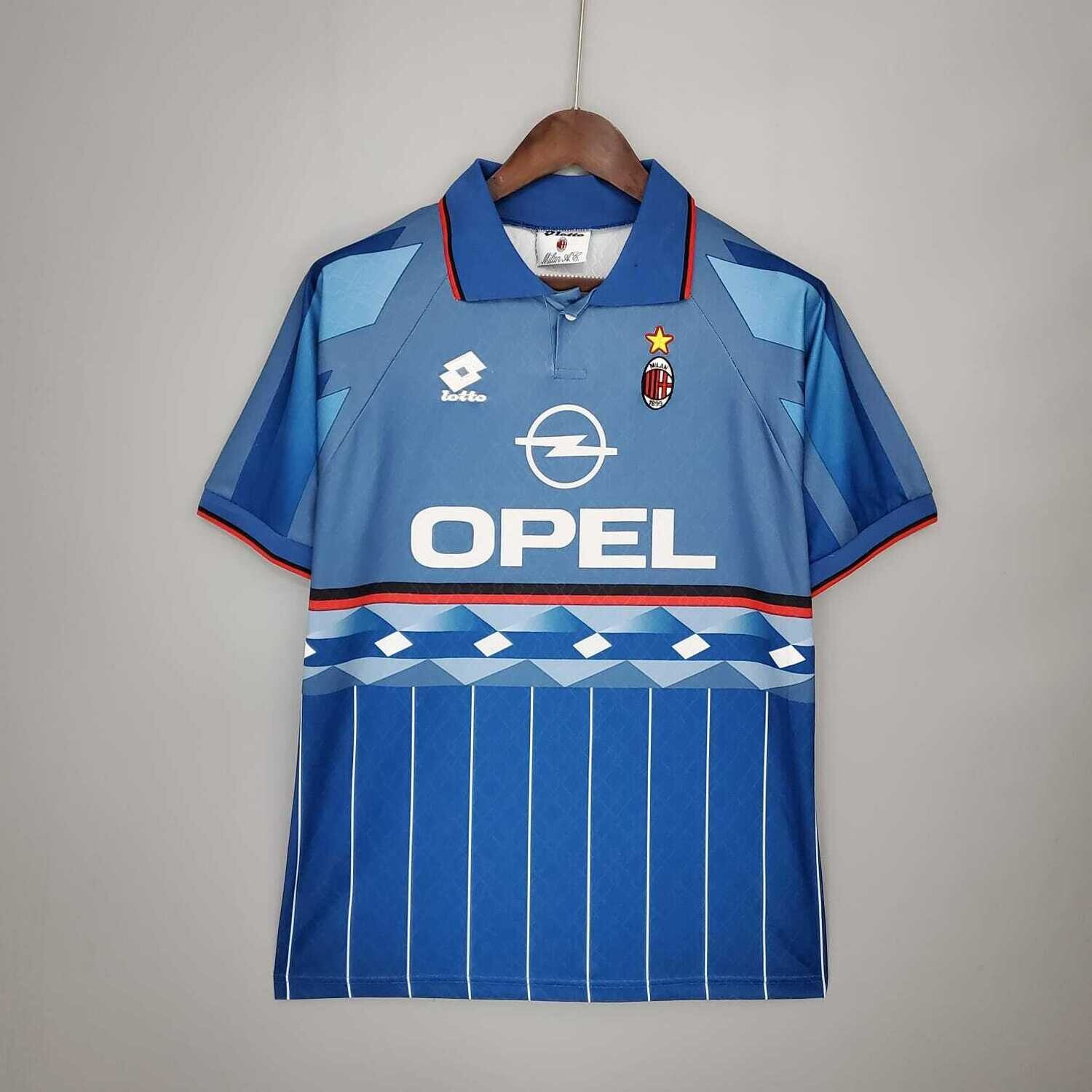 AC Milan 1995-96 Retro Third Jersey [Pre-paid Only]