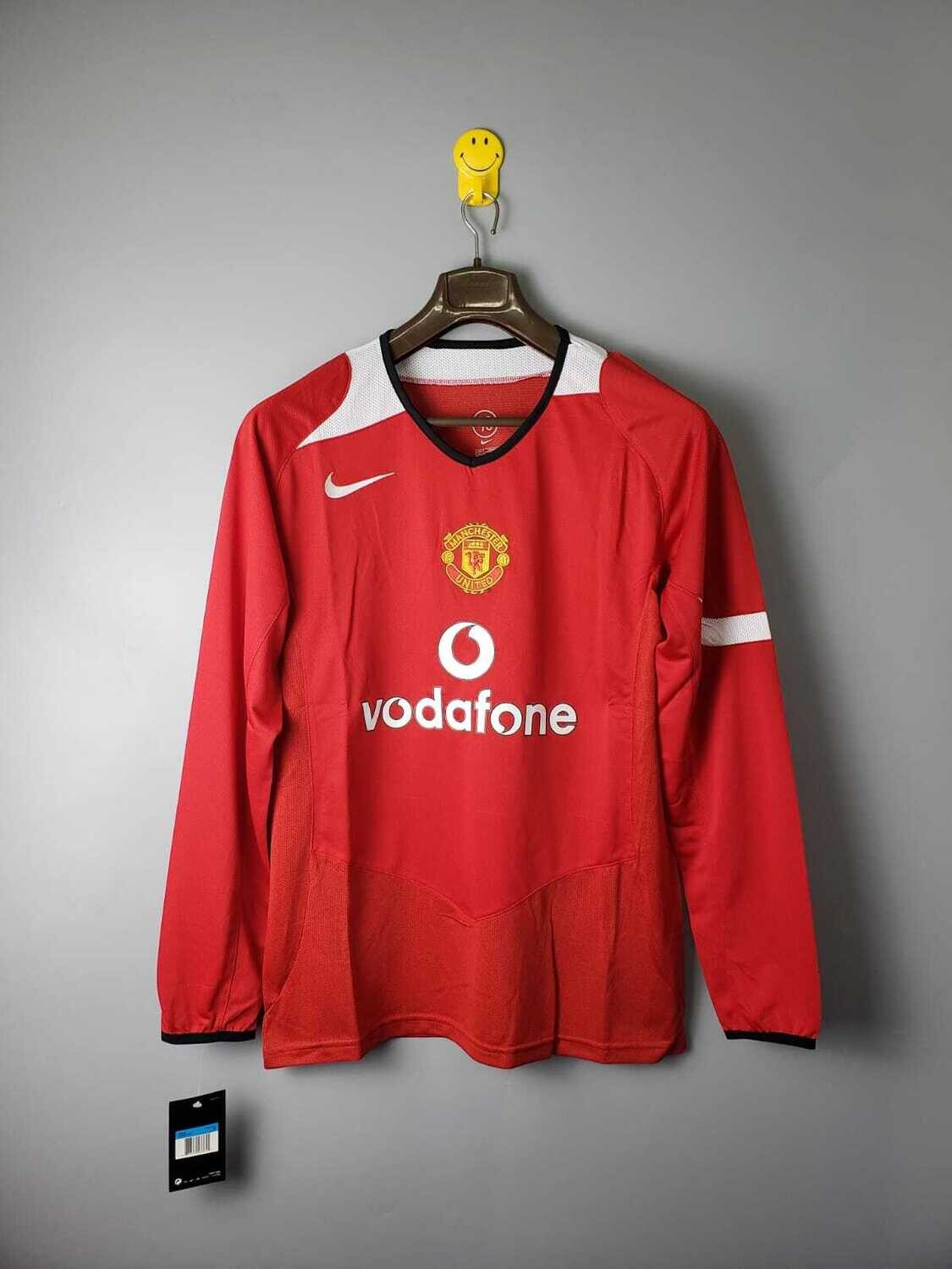 Manchester United 2004-06 Retro Home Full Sleeves Jersey [Pre-paid Only]