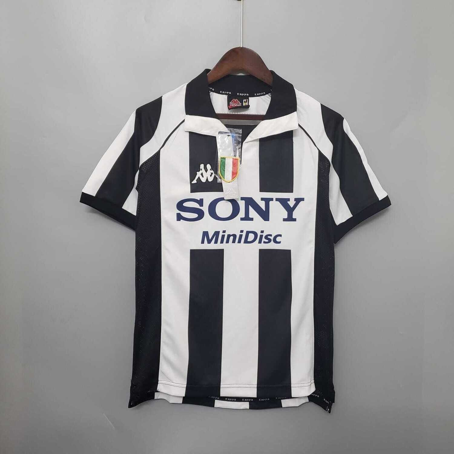Juventus 1997-98 Retro Home Jersey [Pre-paid Only]