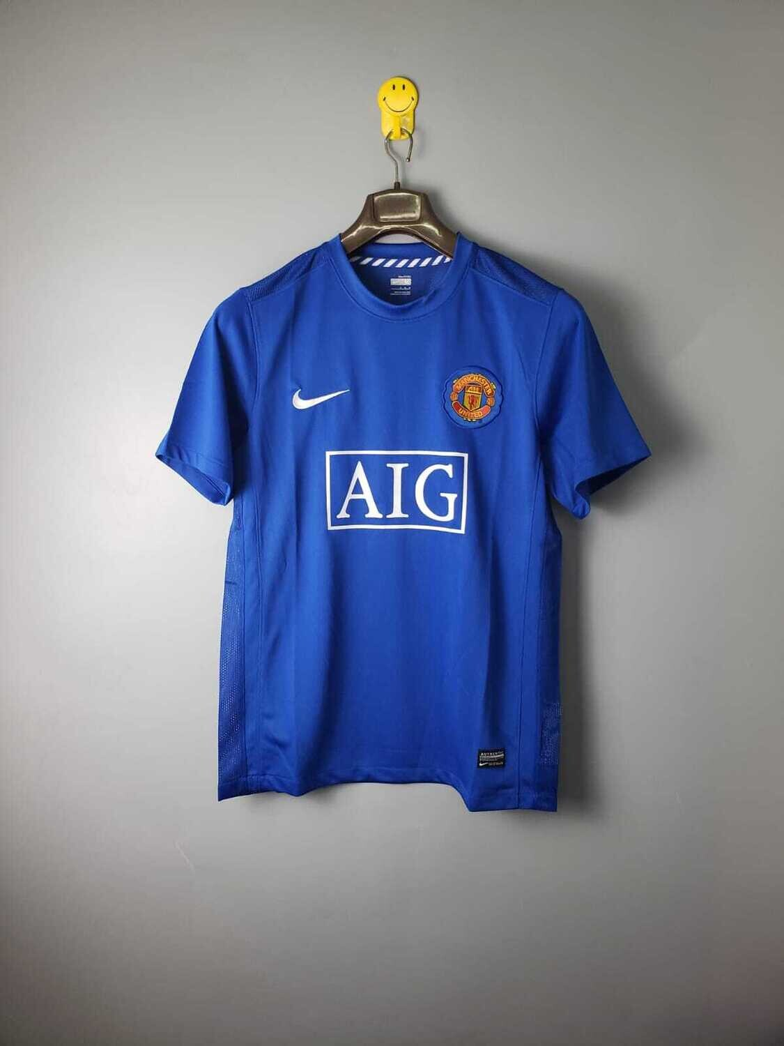 Manchester United 2007-08 Retro Away Jersey [Pre-paid Only]