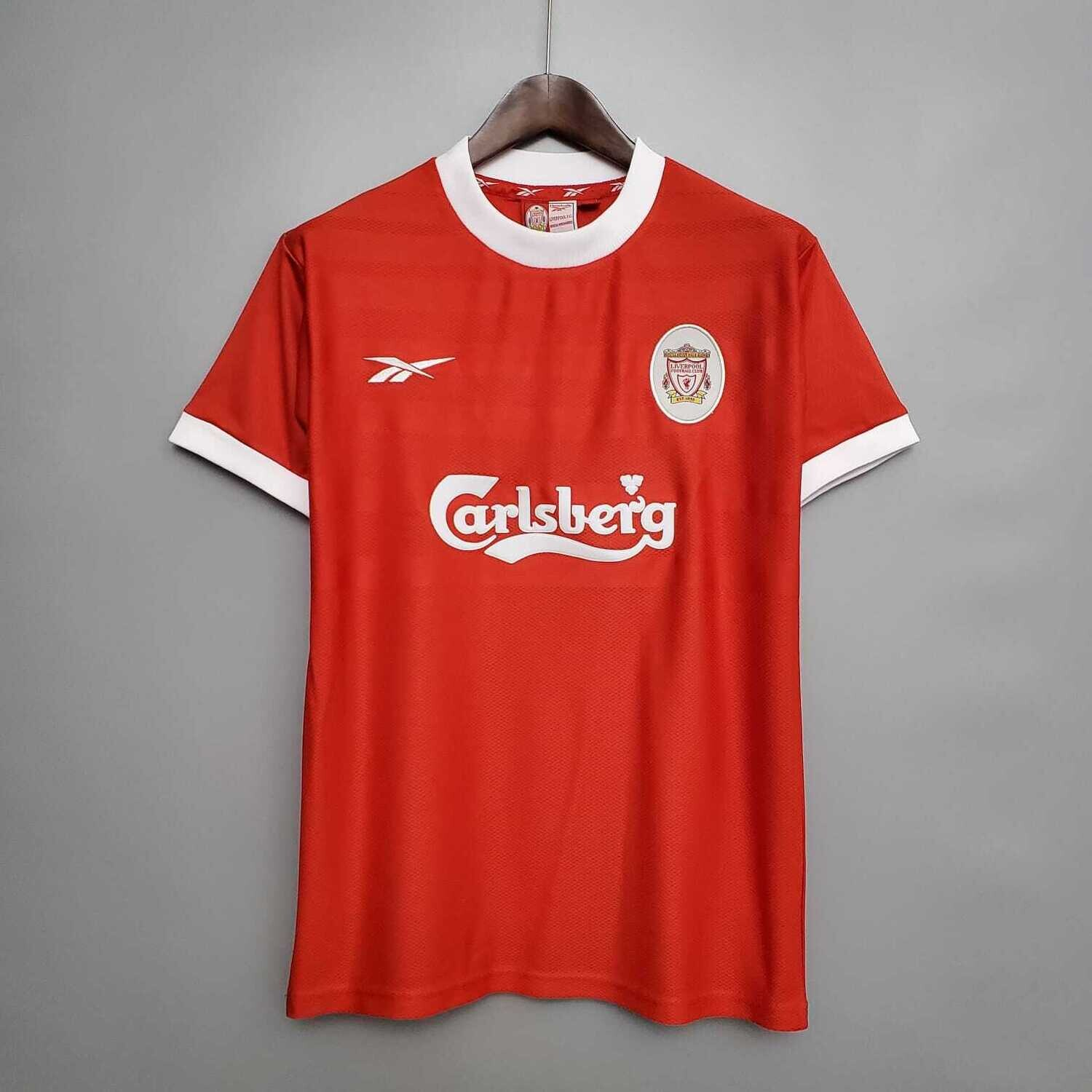 Liverpool 1998-2000 Retro Home Jersey [Pre-paid Only]