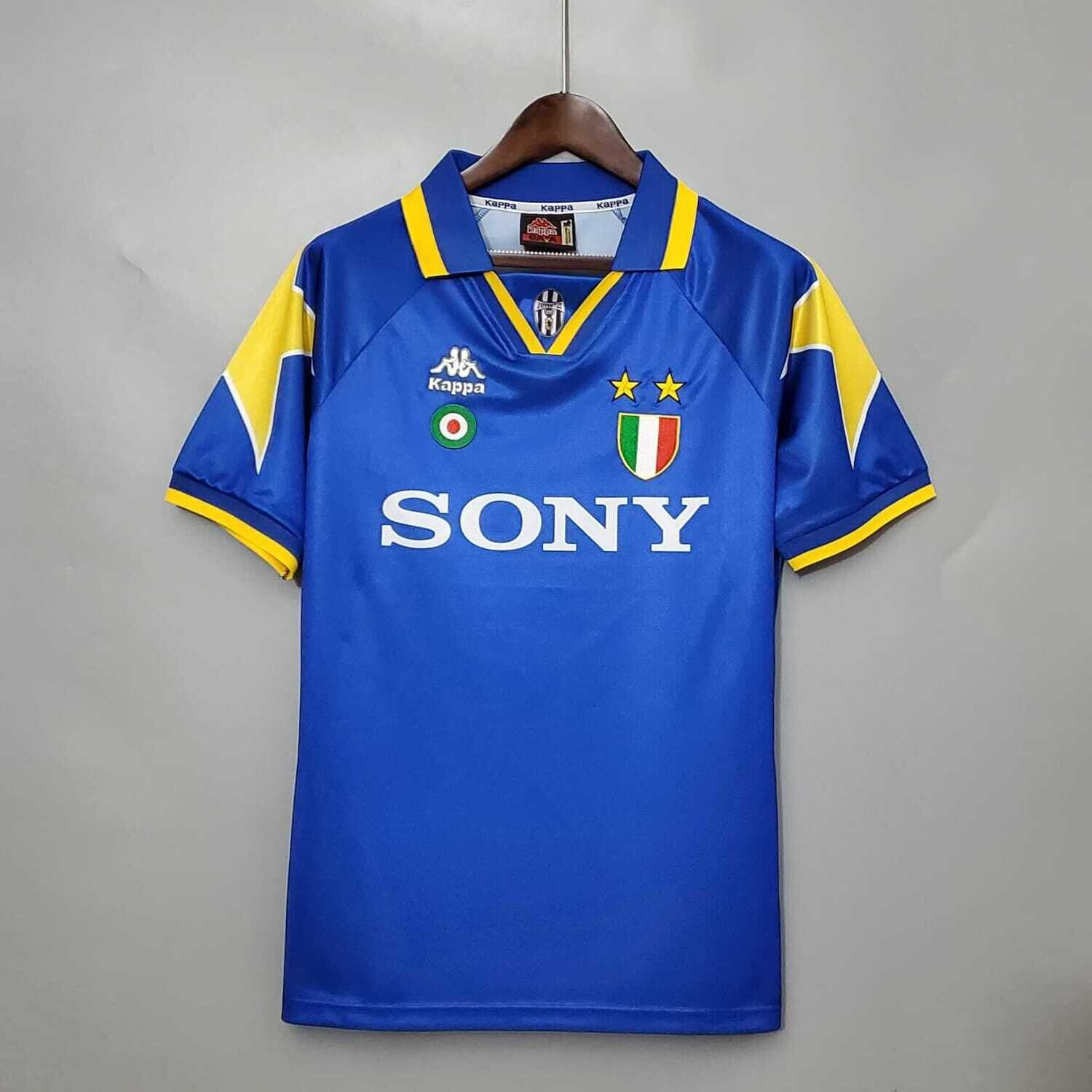 Juventus 1995-96 Retro Away Jersey [Pre-paid Only]